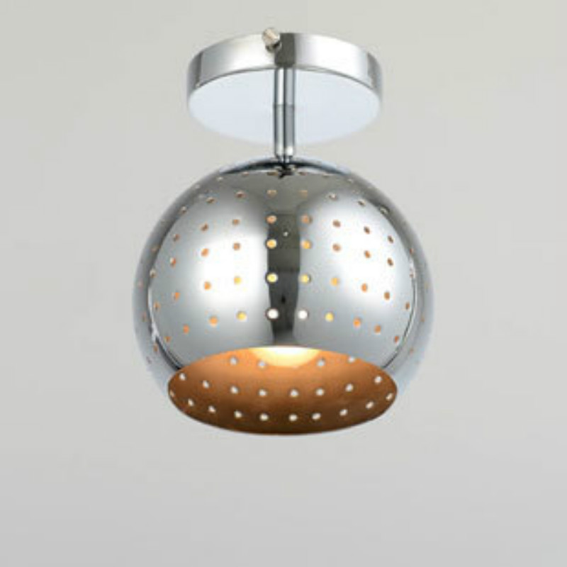 Modern brief LED ceiling light aisle corridor balcony silver ceiling lamp kitchen bedroom indoor decor lighting fumat modern minimalist bedroom ceiling light corridor balcony glass lampshade light kitchen round metal ceiling lamps