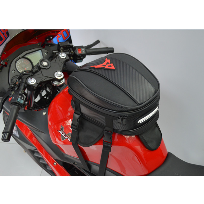 2018 motorcycle helmet bag saddle bags motorcycle leg moto hot high quality racing oil tank Tail Bags