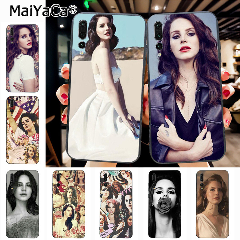Maiyaca Beautiful Lana Del Rey Sexy Ultra Thin Cartoon Pattern soft tpu Phone Case for Huawei P20 P20 pro Honor9 Mate10 case