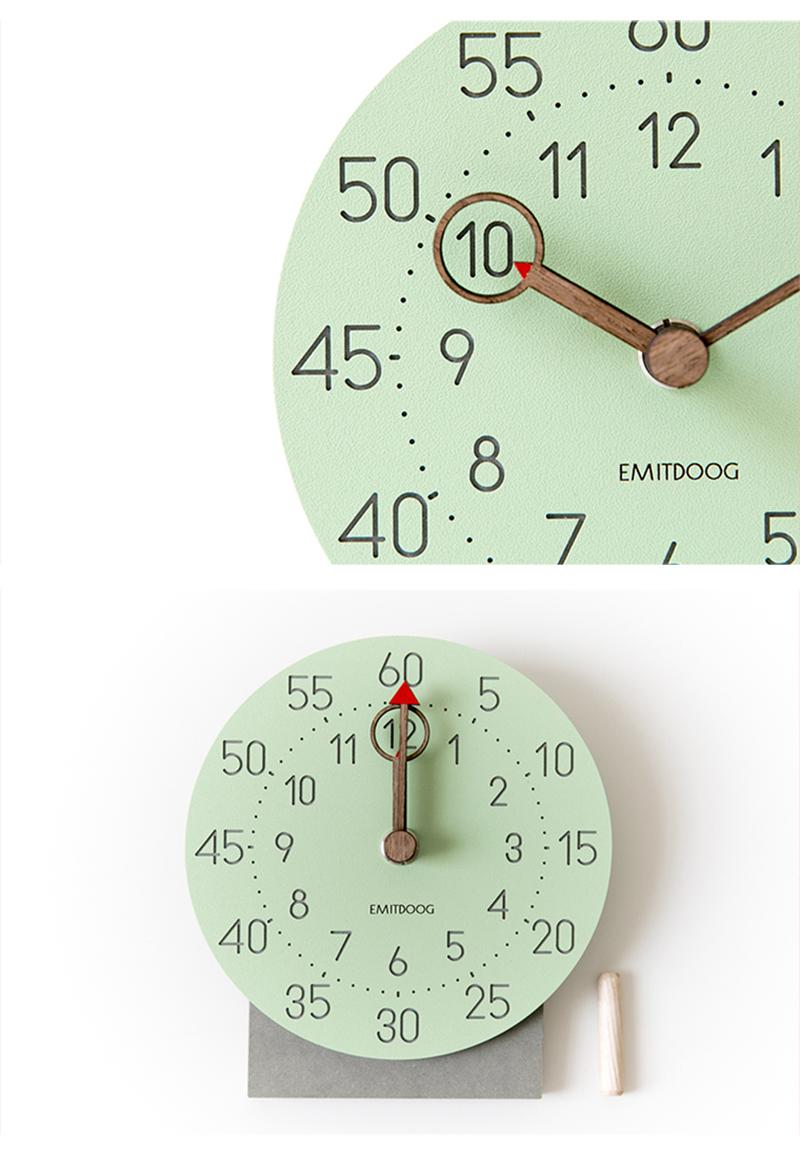 retro clock with time projection clock vintage reloj mesa vintage reloj antiguo automobile clock alarm clock bedroom clock clock flip watch table table clock (9)