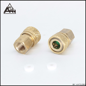 PCP Paintball High Pressure Connector Female Fill Hose Charging Fitting 8MM Female Quick Disconnect Thread M10*1 copper 2pcs paintball airsoft airfroce pcp hpa high pressure air fill hose line with quick disconnect
