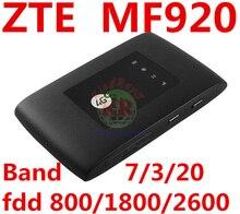 unlocked ZTE MF920 4G LTE Mobile WiFi Pocket mifi router 4g Hotspot Router Modem pk mf920a mf910v mf95 mf910 mf823 mf90 mf93