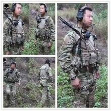 EMERSON Gen2 savaş BDU gömlek ve pantolon ve pedler takım elbise savaş üniforma Multicam askeri kamuflaj üniforma EM2725