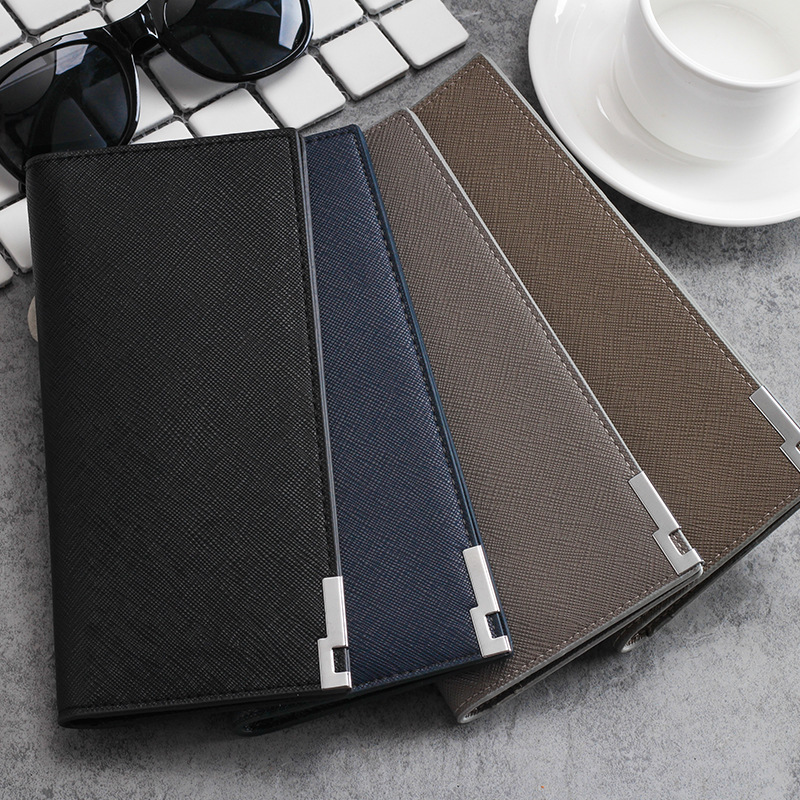 New Mens Large Slim Wallet Multi-Card Bit Cross Wallet Card Pack High Capacity Stylish Business Style