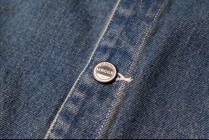 Image 5 - سترات رجالية نمط اليابان الربيع خمر سترة جينز متعددة جيب سترات البضائع واحدة الصدر الجينز سترات سترات صدرية Ds50302