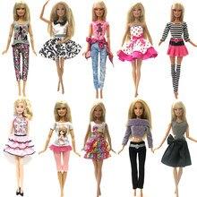 86ffb372f95 NK один комплект модные оригинальные кукольная юбка красивые ручной работы  праздничная одежда голубое платье для Барби