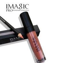 IMAGIC марка комплект для губ матовый блеск для Губ Карандаш Pen жидкая Помада набор для губ стик для губ Губы Женщины Макияж инструмент