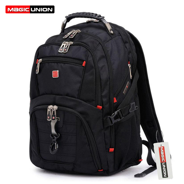 ed86148a82e1 MAGIC UNION Hot Sale Oxford Men Laptop Backpack 15