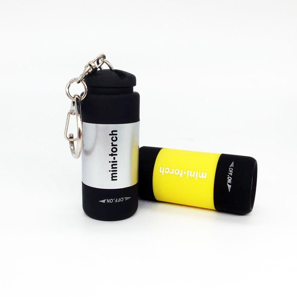 Mini-torch led light usb charge 0.3W 25Lum portable led mini torch Flashlight USB rechargeable Keychain
