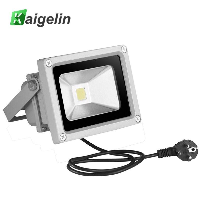 10W LED Flood Light 85V-265V 700LM Reflector FloodLight EU Plug COB Integrated IP65 Waterproof LED Lamp Garden Outdoor Lighting