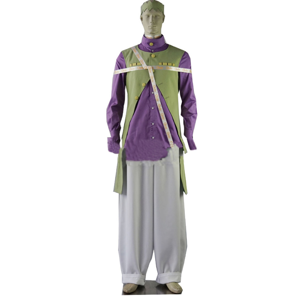 2017 Rohan Kishibe Cosplay Costume From Jojo's Bizarre Adventure