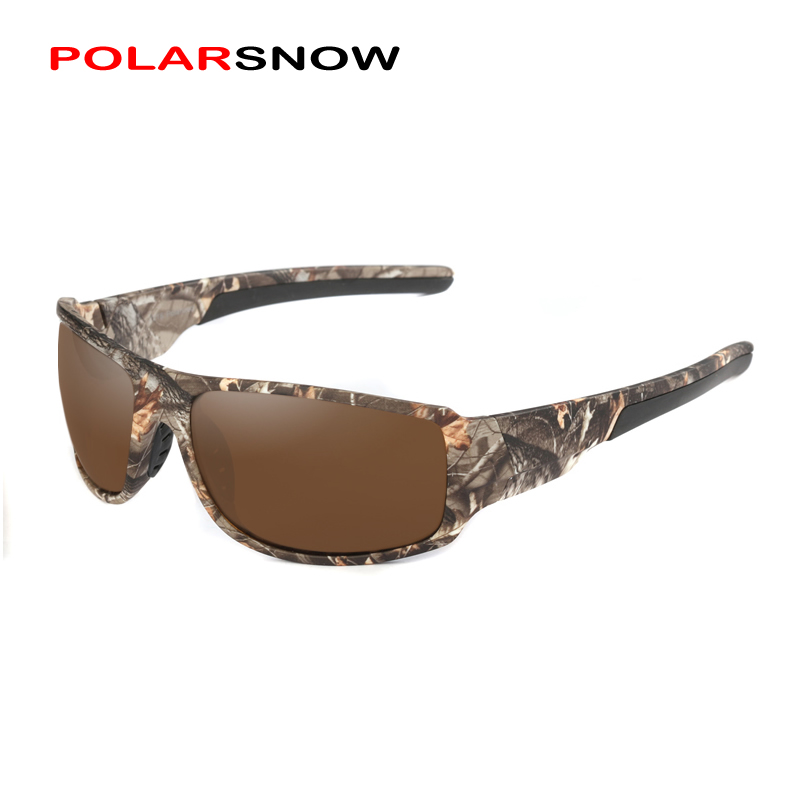 POLARSNOW 2019 Neue Camo Rahmen Polarisierte Sonnenbrille Hohe Qualität Goggle Männer Frauen Sonnenbrille UV400 Brillen Oculos masculino