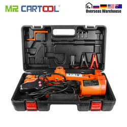 Автомобильный электрический ножничный домкрат 3 тонны 6600lb DC 12v подъемный винт домкрат ремонтный инструмент авто аварийный подъёмный подъем...