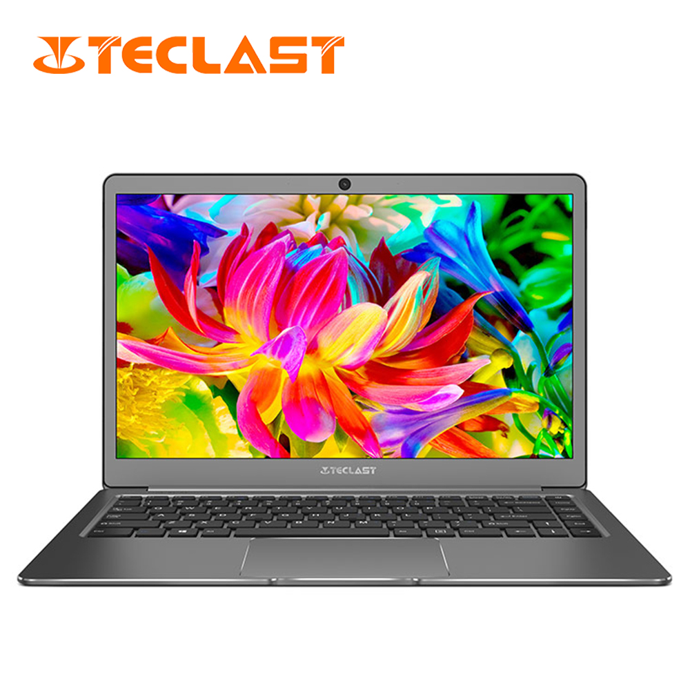 Teclast Laptop F6 Notebook 6gb Ram 128gb Ssd 13.3'' Windows10 Home English Version Intel Quad Core 1.10ghz Bluetooth Camera Hdmi
