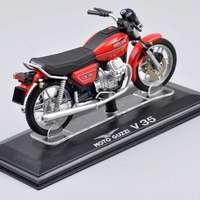 Collectible Juguetes Mini Italeri 1 22 Scale Moto Guzzi V35 Diecast Motorcycle Motorbike Model Toys Vehicles