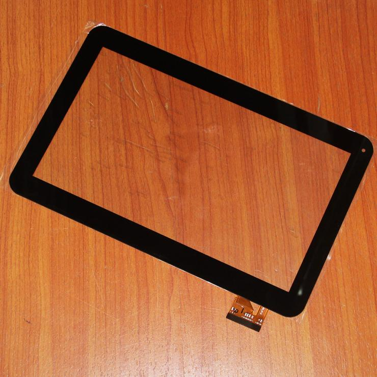 Black Touch Screen Glass Panel Sensor Repair Parts Replacement For Tablet PC RS10F163-V1.0 repair parts replacement flip open screen shaft hinge for nds pair