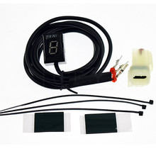 Motorcycle LCD Electronics 6 Speed 1-6 Level Gear Indicator Digital Gear Meter For Honda CRF250L CRF 250L CRF 250 L CRF250M Moto