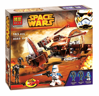 Lepin BELA 10370 Attack Of Clones Hailfire Droid Exclusive Star Wars Building Blocks Bricks Toys Compatible