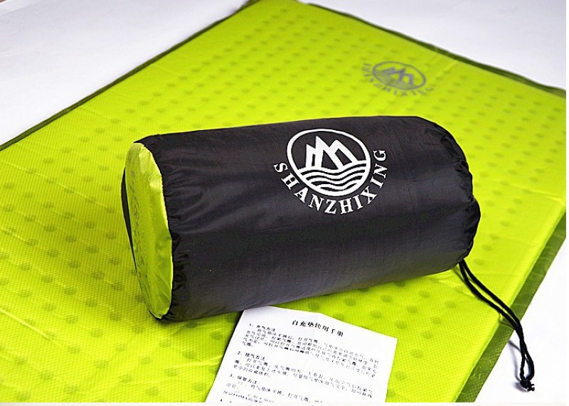 Outdoors Camping Mat Self Inflatable Sleeping Air PadAir MattressPortableLightweightHigh Quality In From Sports