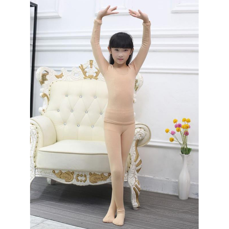 Customized Figure Skating Underwear Pantyhose For Girl Women Training Competition Patinaje Ice Skating Warm Fleece Gymnastics
