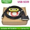 Câble de programmation PLC Mitsubishi FX/A adapté, nouveau DESIGN USB SC09, série SC 09