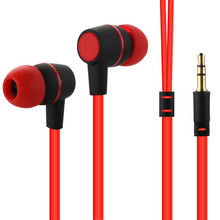 3.5MM In ear headset stereo earphone bass headphone without microphone for all phone mp3 mp4