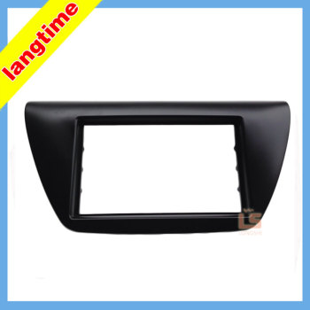 Car refitting DVD frame,DVD panel,Dash Kit,Fascia,Radio Frame,Audio frame for 06 Mitsubishi Lancer IX, 2DIN