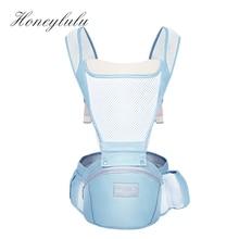 Honeylulu 3D Breathable Baby Carrier Sling For Newborns Kangaroo Storage Function Ergonomic Backpack Ergoryukzak Hipsit