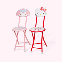 Cartoon Folding Chairs Dining Chairs Fauteuil Enfant Kids Furniture Children Chair High Grade Product