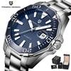PAGANI DESIGN Ceramic Bezel Watch Mens Wristwatches Top Brand Luxury Automatic Mechanical Luminous Watches Men Full