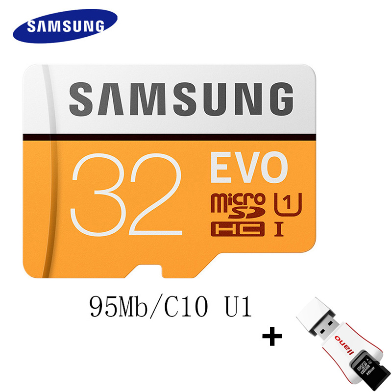 SAMSUNG Micro SD Card Memory Card 128GB 64GB 32GB 100Mb/s Class10 U3 4K/U1 Microsd Flash TF Card for Phone Computer SDHC SDXC samsung 100mb s memory card 128gb 64gb 32gb 256gb micro sd card class10 u3 microsd flash tf card for phone with sdhc sdxc
