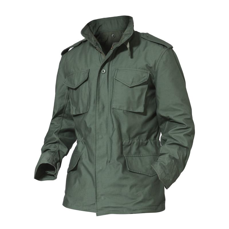 Куртка M65 в стиле джунглей большого размера, водонепроницаемая ветровка со съемной подкладкой, уличная походная охотничья одежда, армейски...