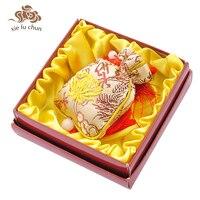 Xiefuchun Classic Sandalwood Golden Scented Sachet Car Wardrobe Drawer Perfume Long Lasting Brand Fragrance Deodorant XFC12
