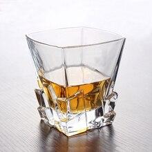 Kreative Reliefs geschnitzt kristall whisky glastasse weinglas Chivas XO bierglas becher hitzebeständige Nachahmung eis