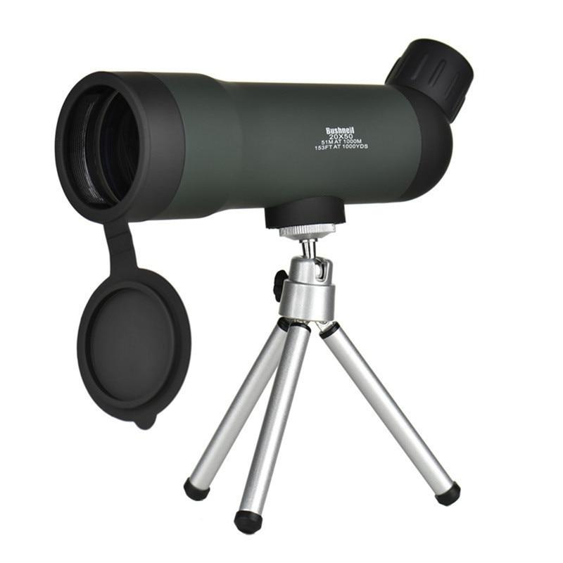 Mini 20x50 Zoom HD Outdoor Monocular Telescope Night Version Spotting Scope With Portable Tripod