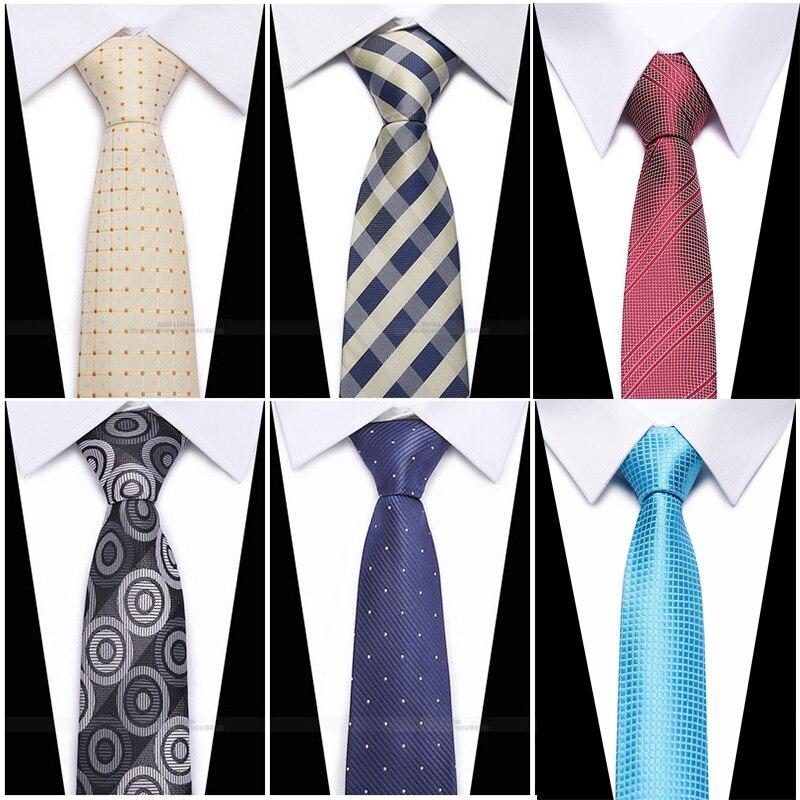 Fashion Hand Tie 8cm Formal Suit Business Wear Necktie Meeting Interview Office Wedding Men's Groom Black Red Striped
