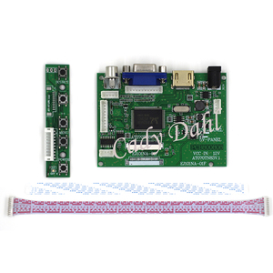 HDMI VGA 2AV Audio LCD Controller Board for Raspberry Pi PC Matrix AT070TN83 V1 AT070TN83-V1 AT070TN83 V.1 800x480 40P LCD(China)