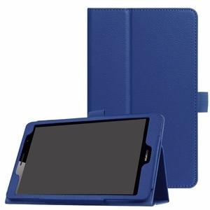 Image 1 - Ультратонкий защитный чехол из искусственной кожи с подставкой и личи для Huawei MediaPad T3 8,0, чехол для планшета с диагональю 8,0 дюйма и диагональю 8,0 дюйма, с функцией защиты от личи, для Huawei MediaPad T3