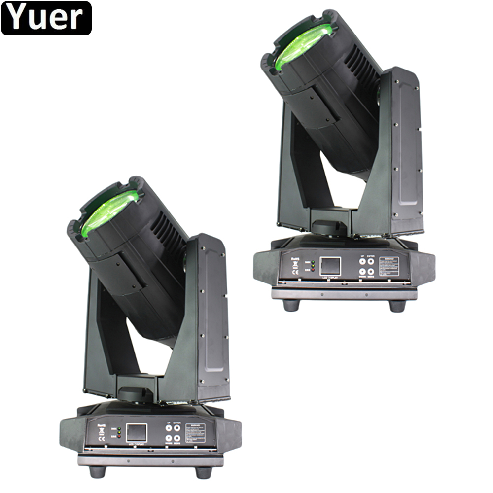 2Pcs/Lot 350W Waterproof Beam Moving Head Light IP55 DMX512 Sound Color Music Party DJ Disco Outdoor Stage Beam Moving Head