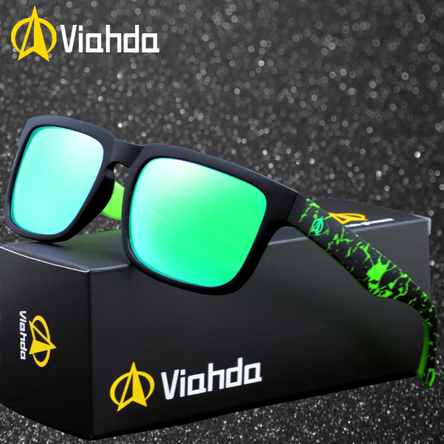 a972c53fee1 VIAHDA 2019 new and coolest The Polarized Sunglasses GlasseS Models  Colorful Sunglasses Brand Designer Sun Glasses With box