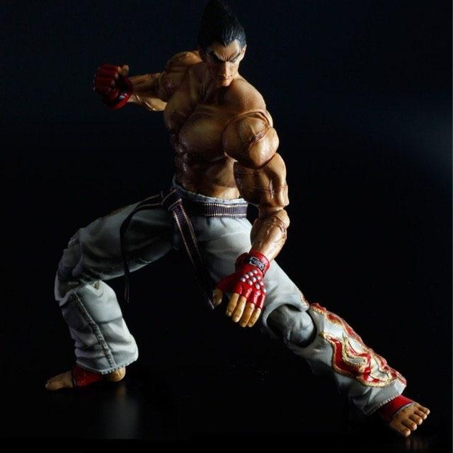 Coffret jeu Tekken Tag tournoi 2 jouer Arts Kai Mishima Kazuya PVC figurine résine Collection modèle poupée jouet cadeaux Cosplay
