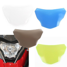 Motorbikes Accessoris  ABS plastic  Headlight Plastic Lamp Lens Cover Protector Shield for 2017-2018 BMW G310R G310GS 17-18 motorbikes accessoris abs plastic headlight plastic lamp lens cover protector shield for 2017 2018 bmw g310r g310gs 17 18