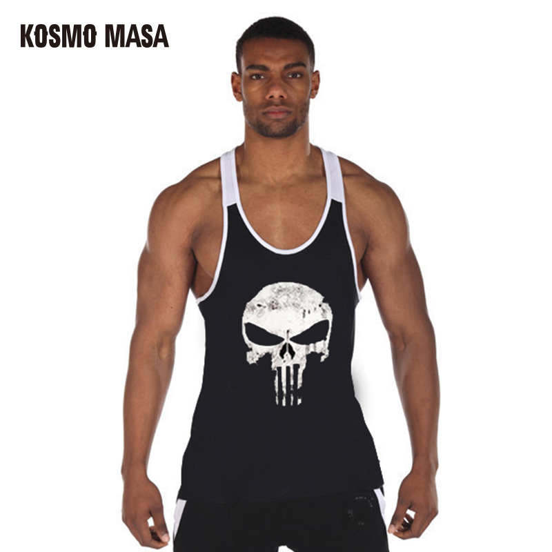 KOSMO MASA 2017 Bodybuilding Fitness Men   Tank     Top   Sportswear Vest Stringer Undershirt Singlets Muscle   Tank     Tops   MC0260
