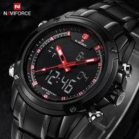 NAVIFORCE Luxury Brand Watches Men Sport Quartz Watch Men S Clock Man Full Steel Casual Military