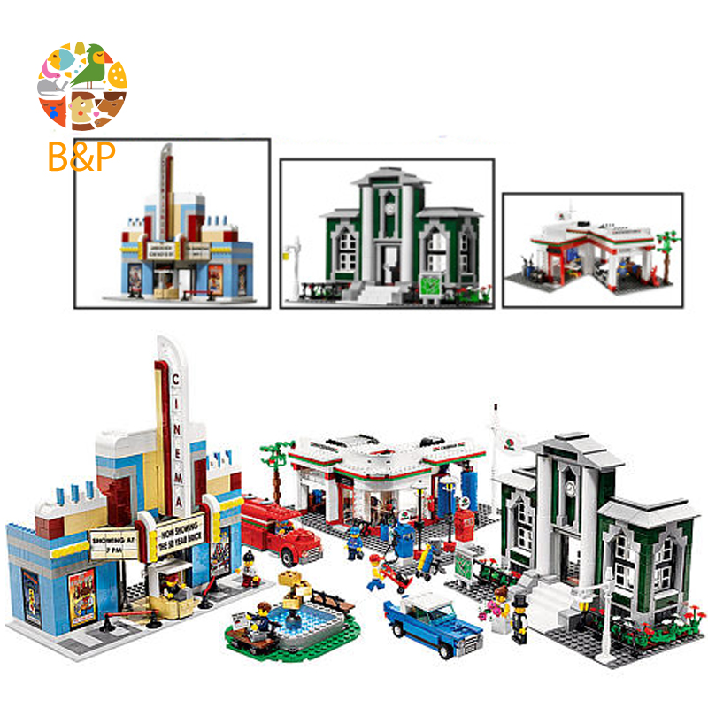 lepin Legoing 10184 2080pcs City series City 50th Anniversary Town Building Block Educational DIY Toy For Children Gift 02022 building blocks stick diy lepin toy plastic intelligence magic sticks toy creativity educational learningtoys for children gift
