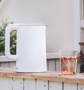 1.5l Электрический чайник двойной анти-обжигающий 304 Нержавеющаясталь Контроль температуры автоматический Мощность-off 1800 Вт Быстрый сжиган...