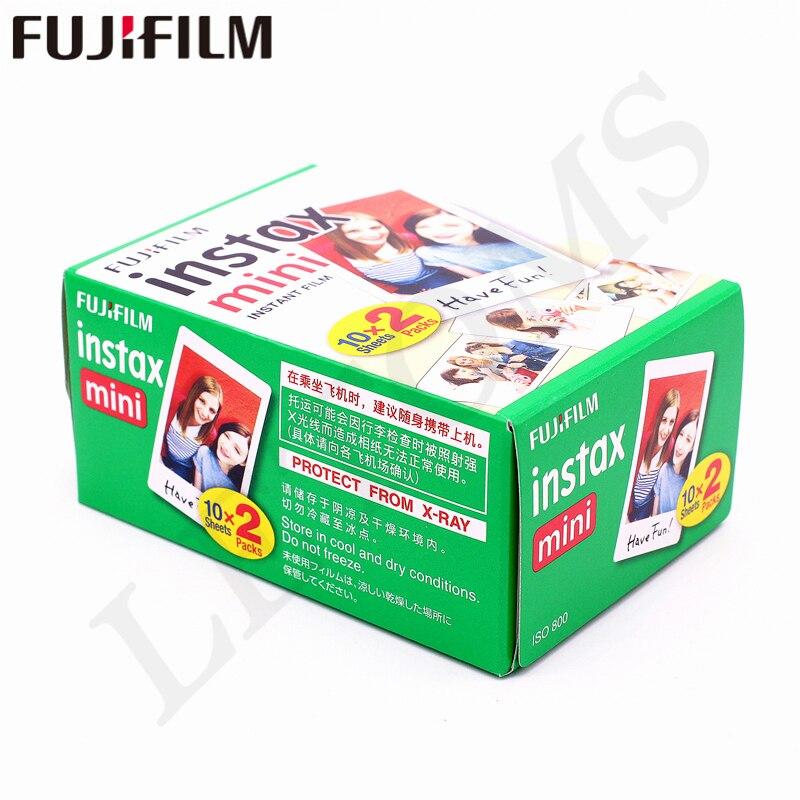 D'origine Fuji Fujifilm Instax Mini 8 Film Blanc Bord Papiers Photo Pour Mini 9 7 s 90 25 55 Partager SP-1 Appareil Photo Instantané 50 feuilles - 6