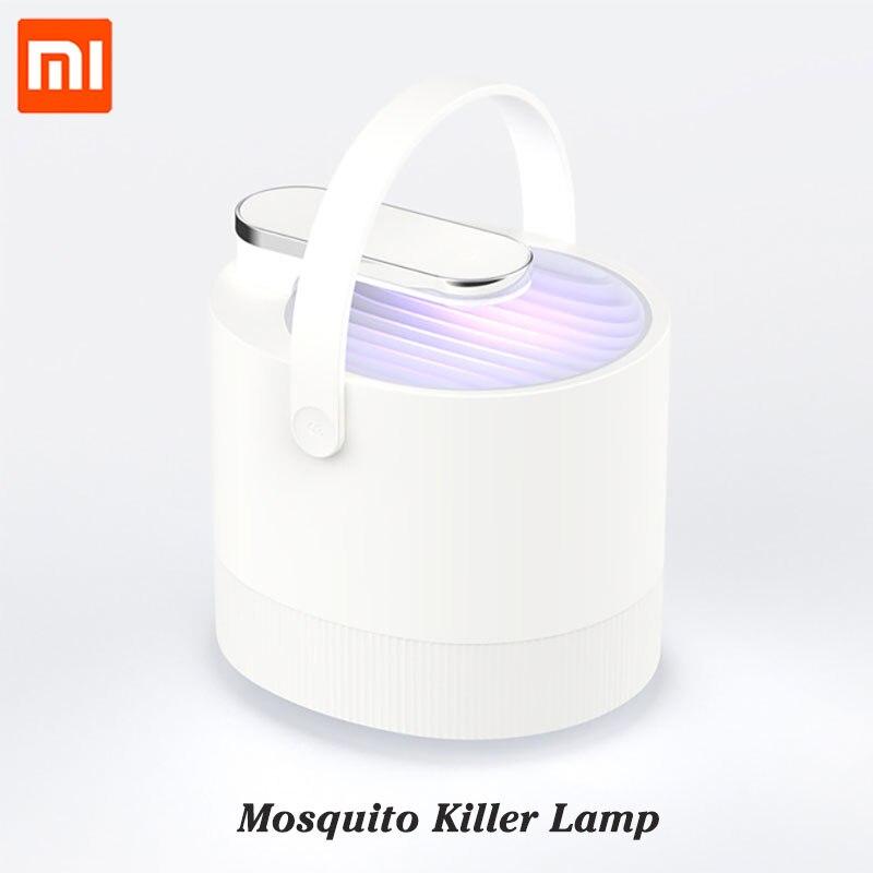 Bonito Más Xiaomi Mijia Mosquito Asesino Lámpara Usb Fotocatalizador Mosquito Repelente De Insecto Asesino Lámpara Trampa Uv De Luz Inteligente