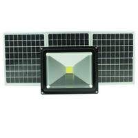50W solar light outdoor LED light flood light solar garden light projector with switch dimming