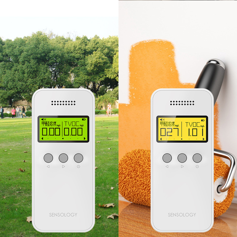 1 pcs Portable Nine-in-one Air Detector Formaldehyde detector Air quality testing instrument Decoration measuring device maize farming technologies and livelihoods
